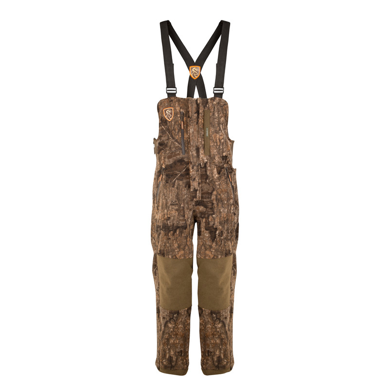 Drake Scent Control Non-Typical Hyrdro-Hush Bib Agion Active XL in Realtree Timber Color