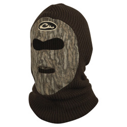 Drake Waterfowl LST Fleece-Lined Face Mask