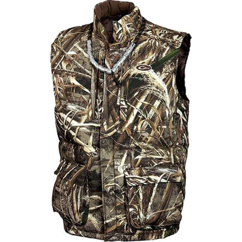 Drake LST Down Vest in Realtree Max 5 Color