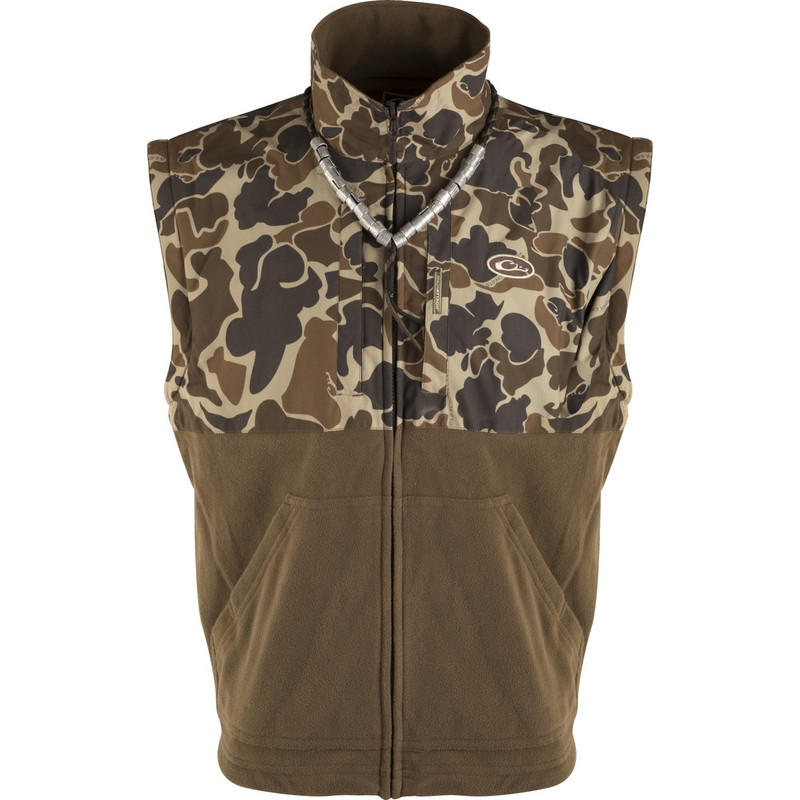 Drake LST Eqwader 3-in-1 Plus 2 Wader Coat 2.0 in Old School Camo Color