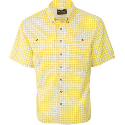 Drake FeatherLite Plaid Wingshooter Short Sleeve Shirt