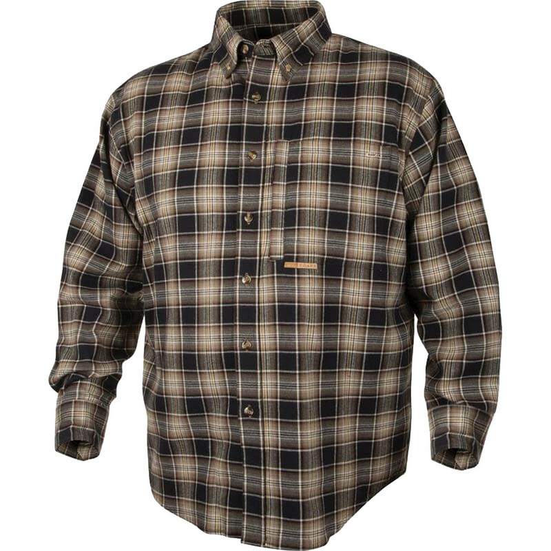Drake waterfowl mens autumn brushed twill shirt for Brushed cotton twill shirt