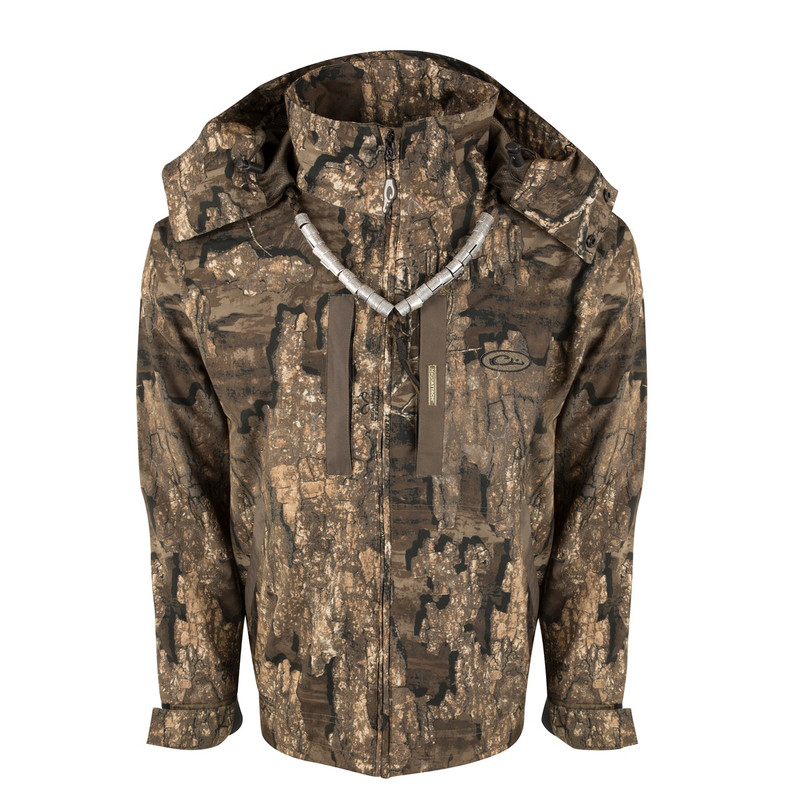 Drake EST Heat Escape Waterproof Full Zip 2.0 Jacket in Realtree Timber Color