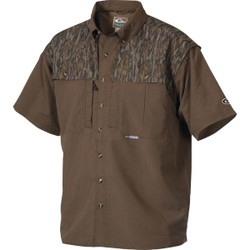 Drake EST Short Sleeve Camo Vented Wingshooter Shirt
