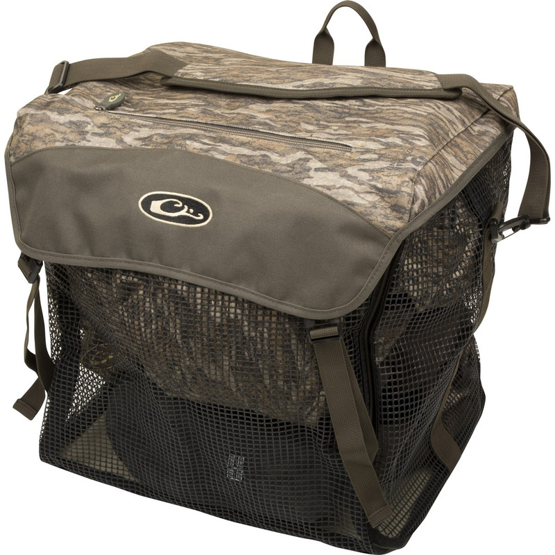 Drake Wader Bag 2.0 in Mossy Oak Bottomland Color