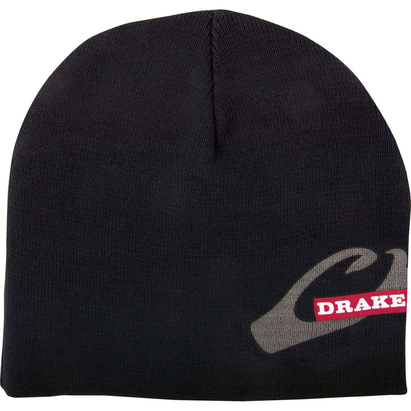 Drake Solid Knit Stocking Cap in Black Color
