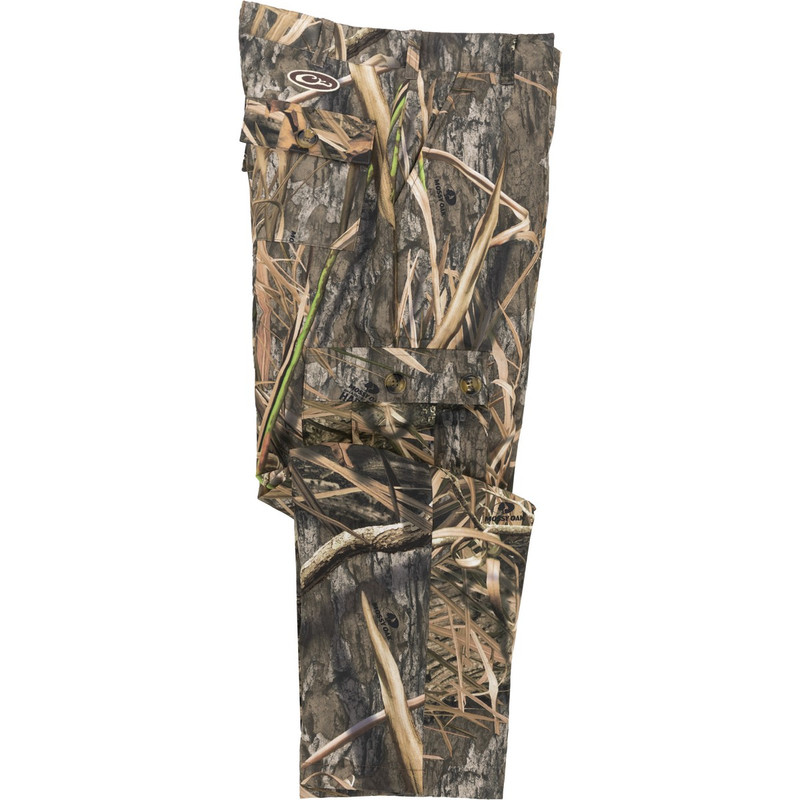 Drake Youth MST Fleece Hunting Pant in Mossy Oak Blades Habitat Color
