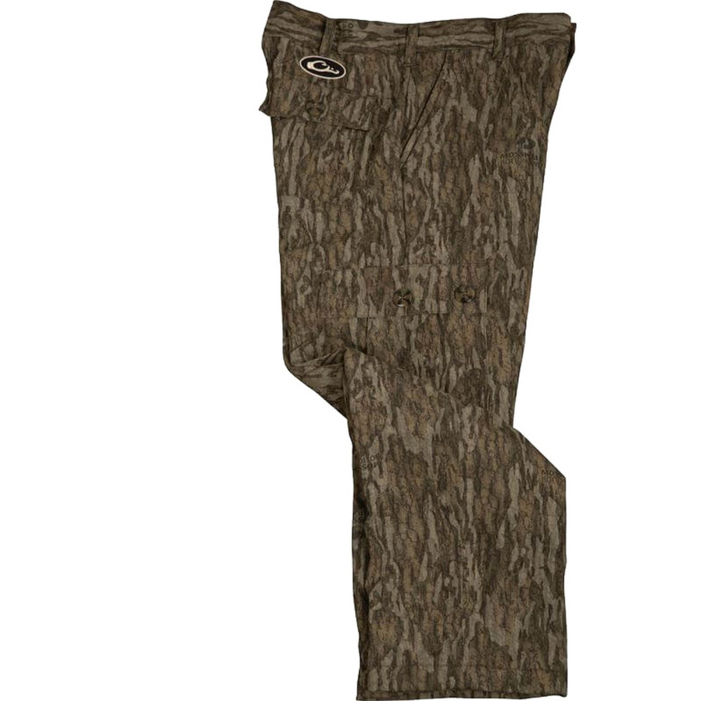 Drake Youth MST Fleece Hunting Pant in Mossy Oak Bottomland Color