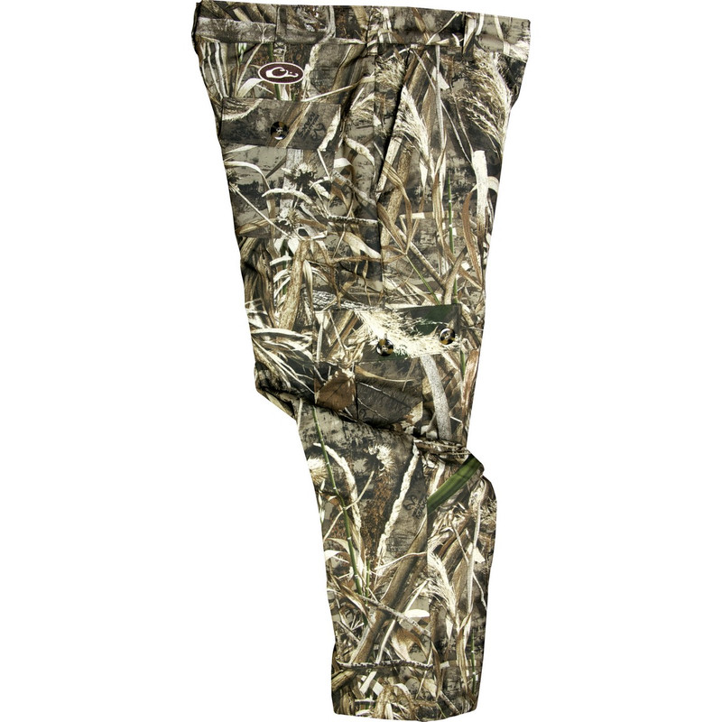 Drake Youth MST Fleece Hunting Pant in Realtree Max 5 Color