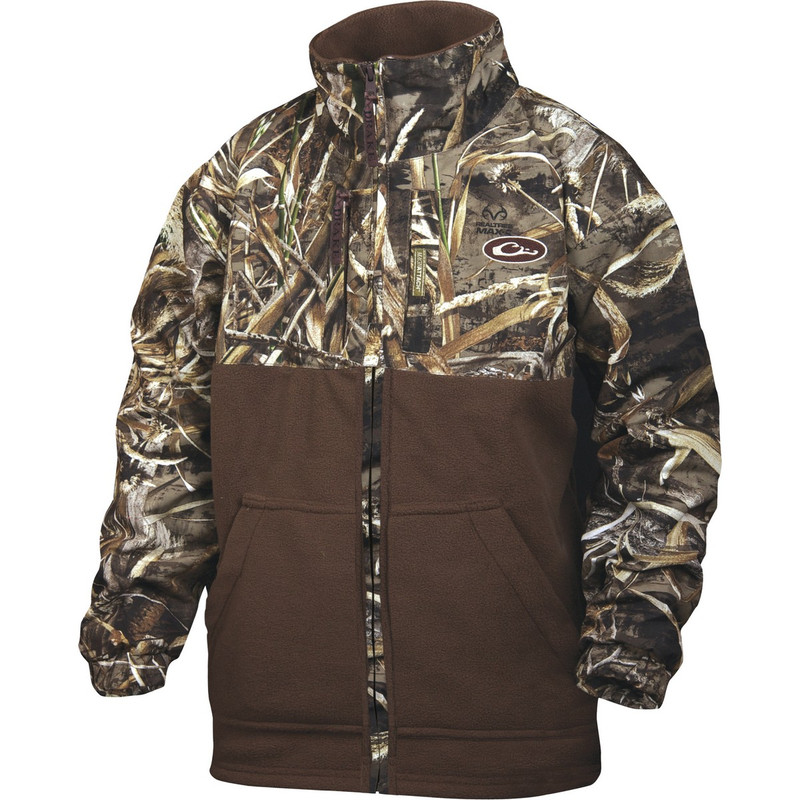 Drake Young Guns MST Youth Eqwader Full Zip in Realtree Max 5 Color