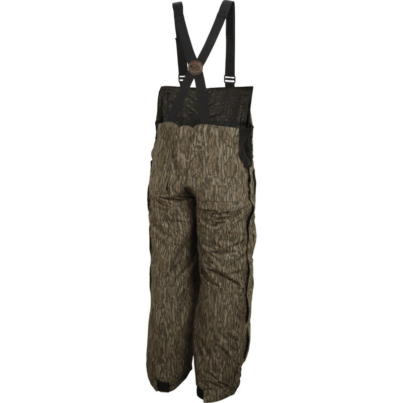 Drake Youth LST Insulated Hunting Bib in Mossy Oak Bottomland Color