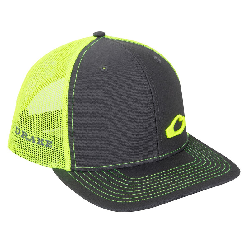 Drake Enid Mesh Back Cap in Charcoal Neon Color