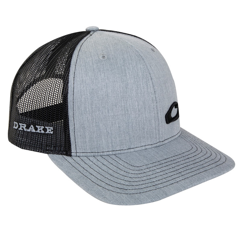 Drake Enid Mesh Back Cap in Heather Black