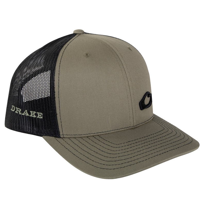 Drake Enid Mesh Back Cap in Loden Black