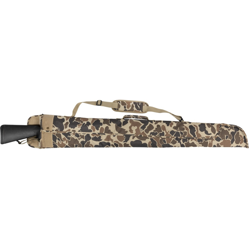 Drake Floating Side Opening Gun Case in Old School Camo Color