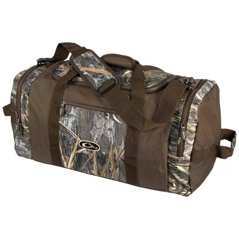 Drake Duffle Bag in Mossy Oak Blades Habitat Color
