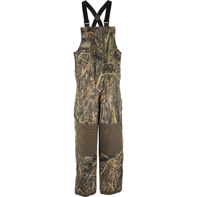 Drake Women's LST Insulated Hunting Bib in Mossy Oak Blades Habitat Color
