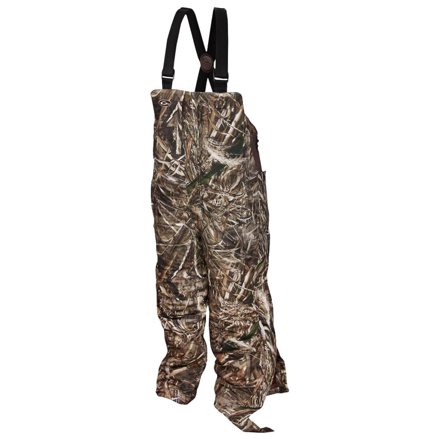 Drake Women's LST Insulated Hunting Bib in Realtree Max 5 Color