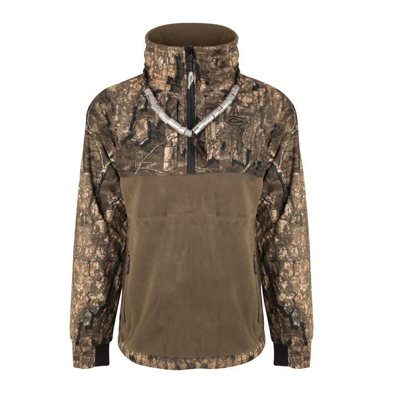 Drake Women's MST Quarter Zip in Realtree Timber Color