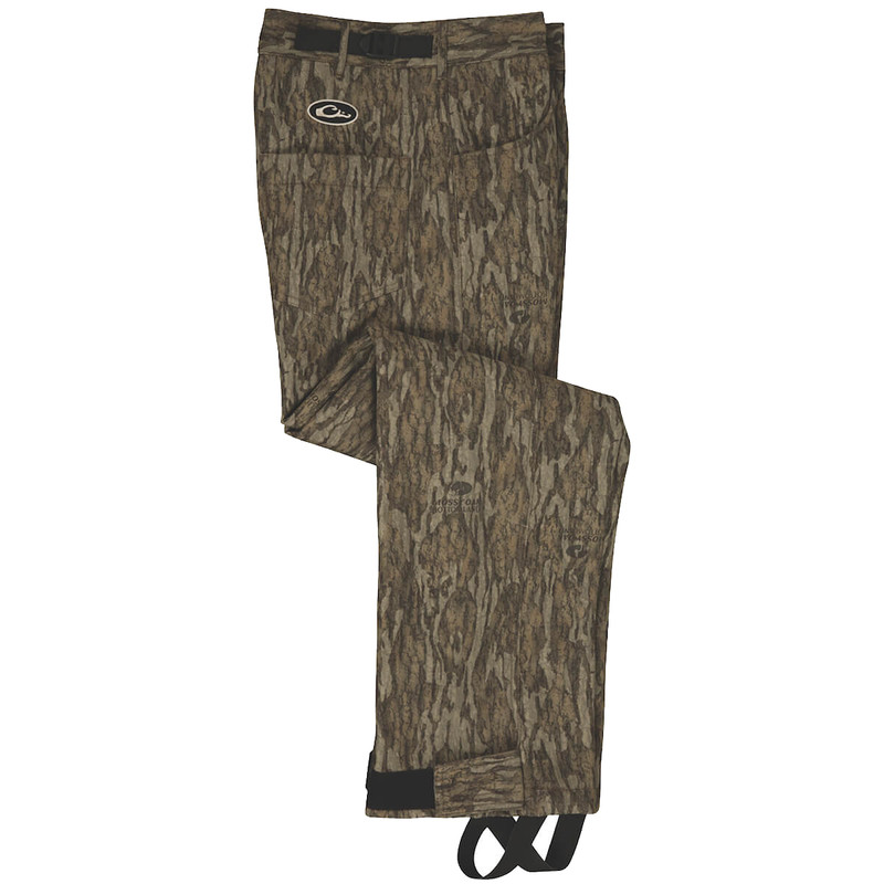 Drake Women's Bonded Fleece Pant in Mossy Oak Bottomland Color
