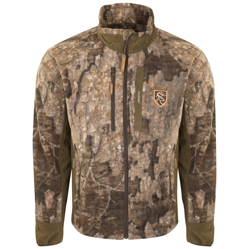 Drake Non-Typical Windproof Layering Jacket With Agion in Realtree Timber Color