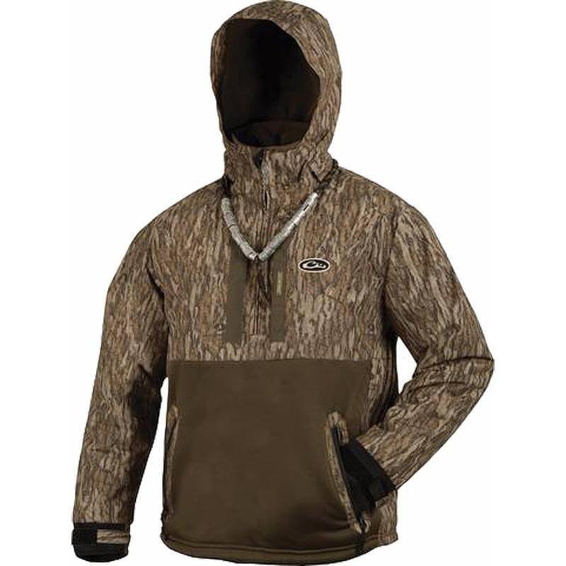 Drake Lst Heavyweight Eqwader Deluxe Quarter Zip Pullover