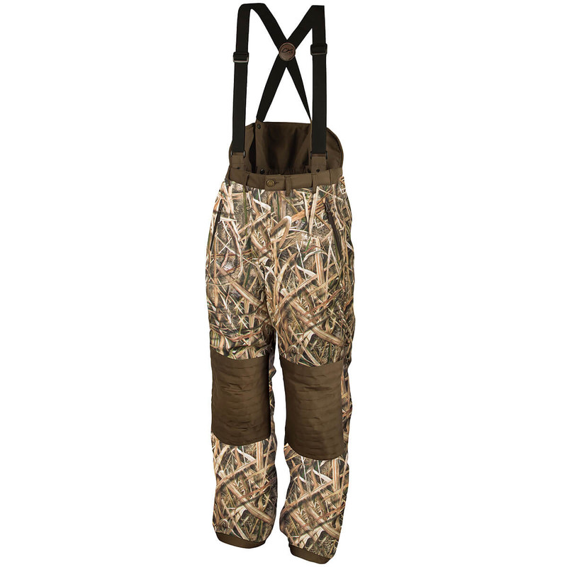 Drake LST Guardian High Back Hunt Pant in Mossy Oak Shadow Grass Blades Color
