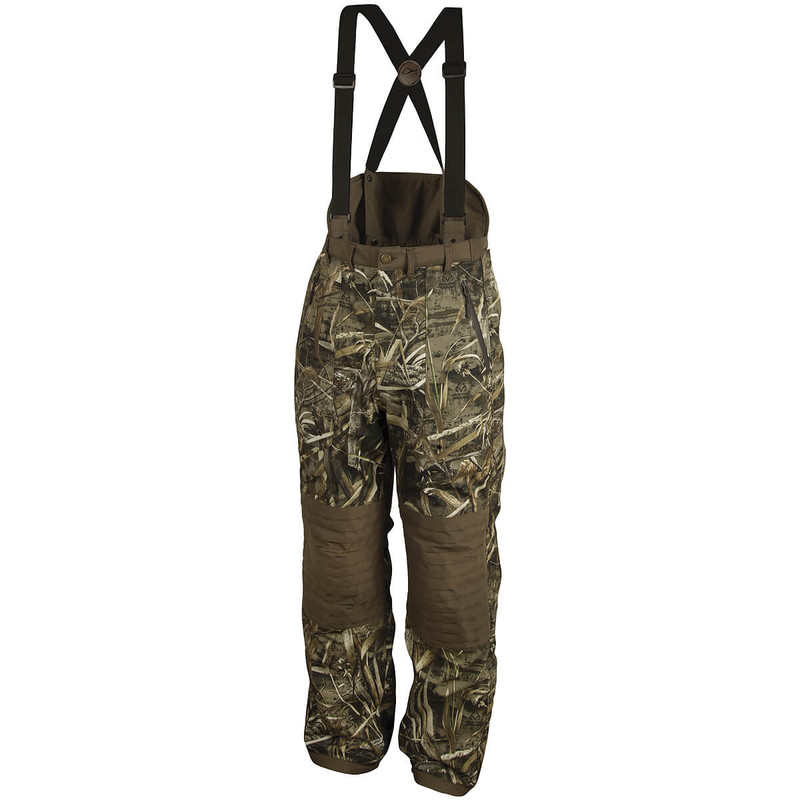 Drake LST Guardian High Back Hunt Pant in Realtree Max 5 Color
