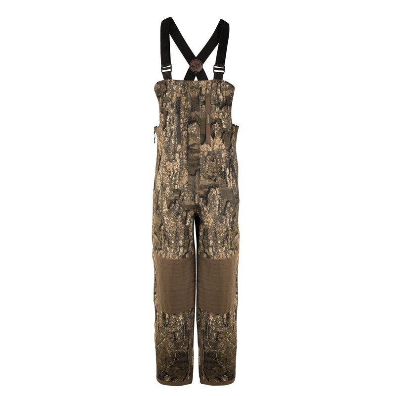 Drake Guardian Elite Bib Shell Weight in Realtree Timber Color