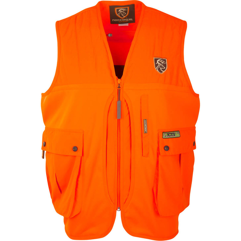 Drake Scent Control Non-Typical Vest With Agion Active in Blaze Orange Color