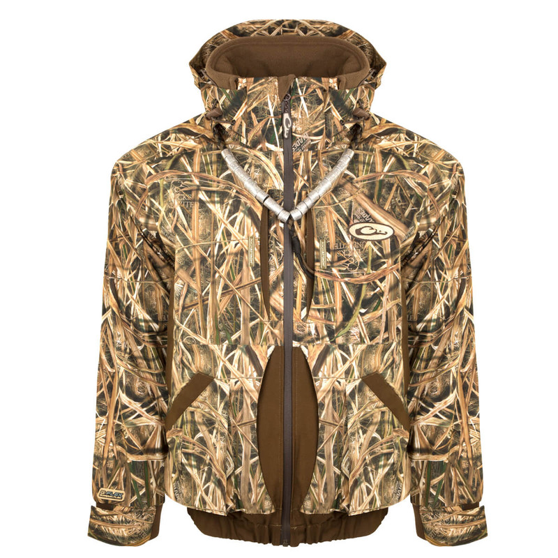 Drake Guardian Flex 3-in-1 Systems Coat in Mossy Oak Shadow Grass Blades Color