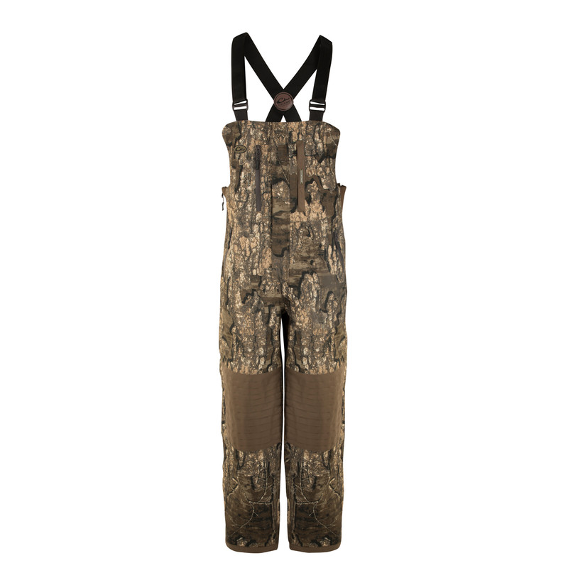 Drake Guardian Flex Insulated Hunting Bibs in Realtree Timber Color