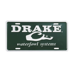 Drake Logo License Plate - Green