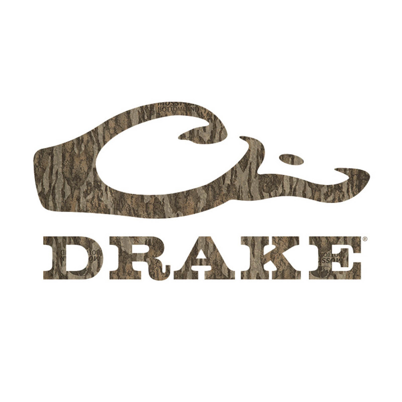 Drake Window Decal in Mossy Oak Bottomland Color