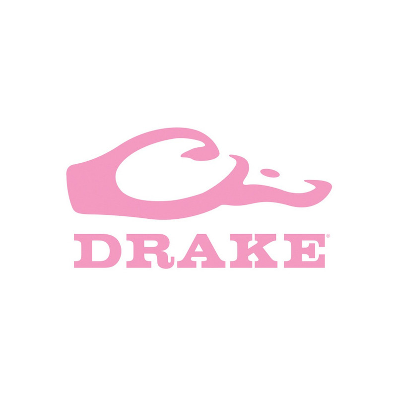 Drake Window Decal in Pink Color
