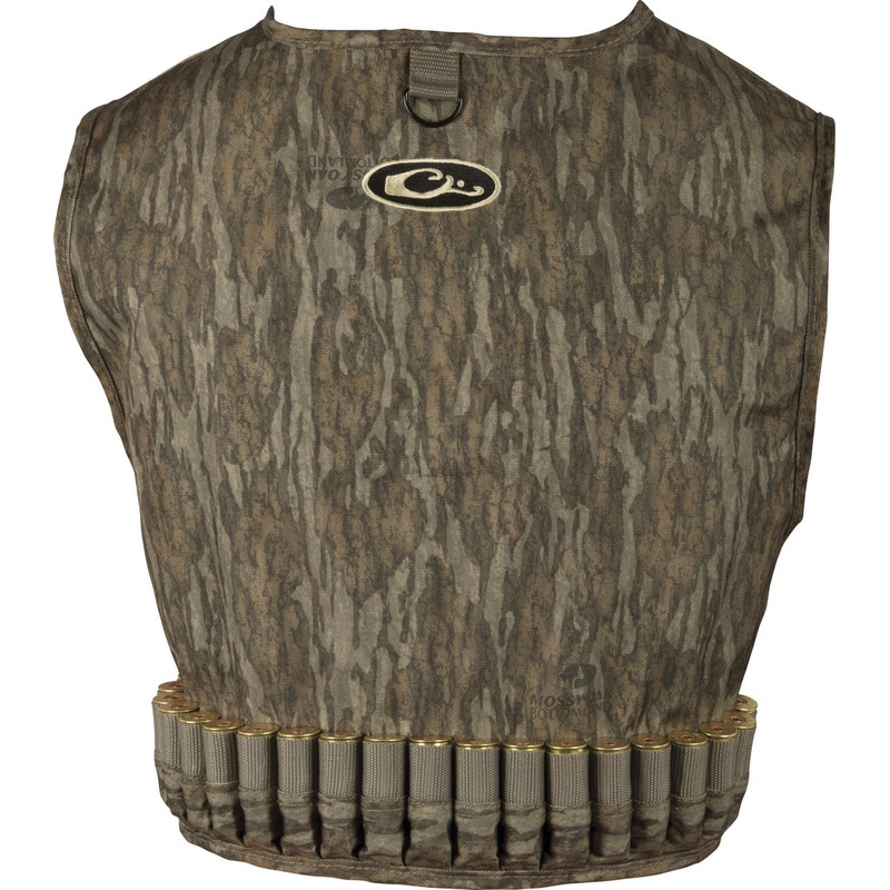 Drake 900D Wading Waterfowl Vest in Mossy Oak Bottomland Color