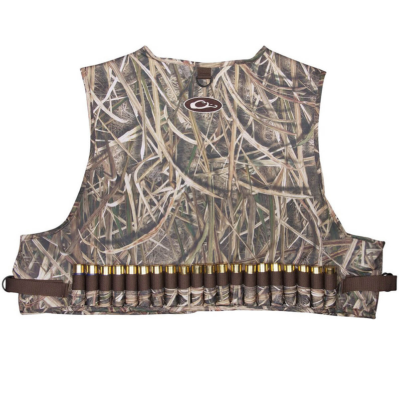 Drake 900D Wading Waterfowl Vest in Mossy Oak Shadow Grass Blades Color