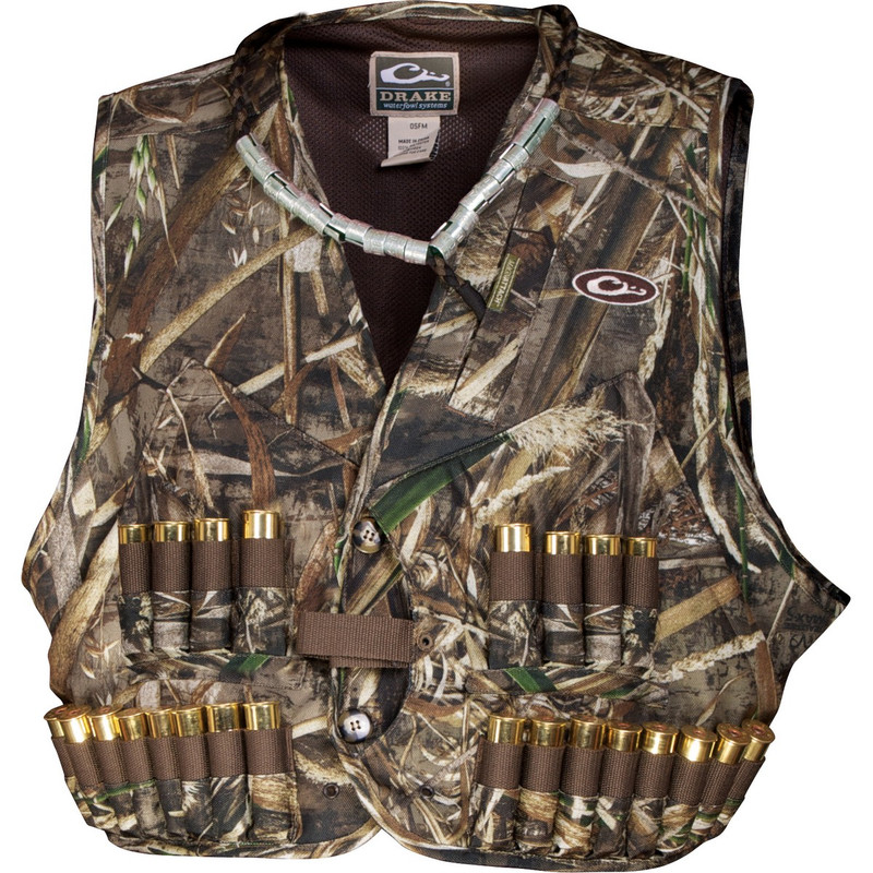 Drake 900D Wading Waterfowl Vest in Realtree Max 5 Color