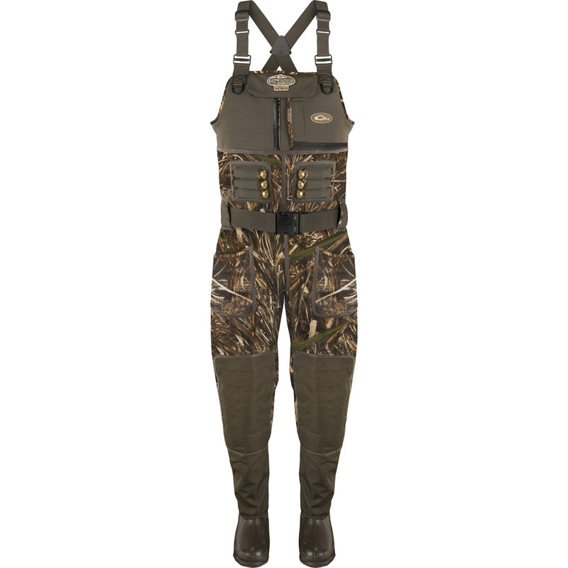 Drake MST Eqwader 2.0 3.5mm Neoprene Wader - Stout in Realtree Max 5 Color