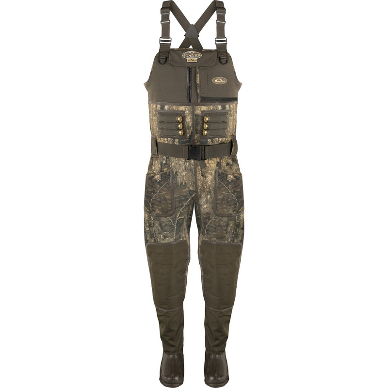 Drake MST Eqwader 2.0 3.5mm Neoprene Wader - Stout in Realtree Timber Color
