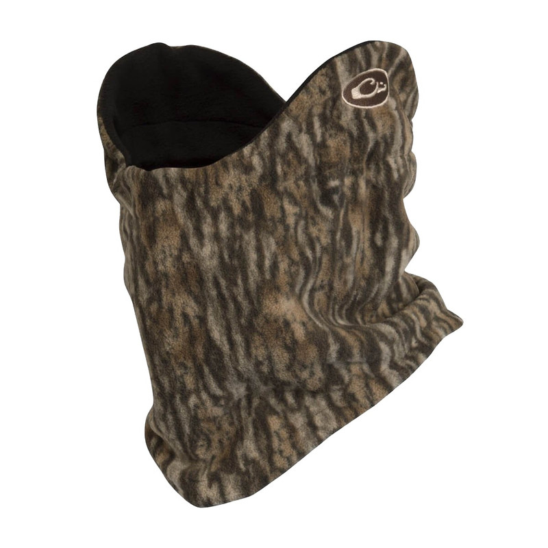 Drake Waterfowl Fleece Neck Gaiter in Mossy Oak Bottomland Color