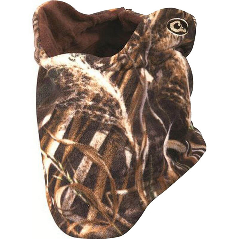 Drake Waterfowl Fleece Neck Gaiter in Realtree Max 5 Color