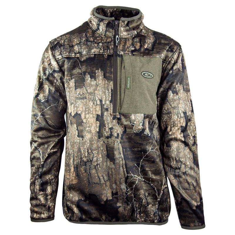Drake MST Endurance 1/4 Zip Hunting Jacket in Realtree Timber Color