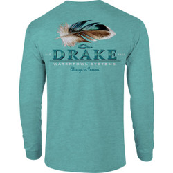 Drake Duck Feather Long Sleeve T-Shirt