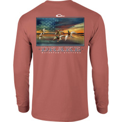 Drake Long Sleeve America's Cup Shirt