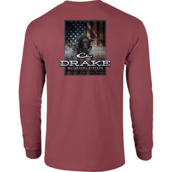 Drake Long Sleeve Charging Patriot Shirt