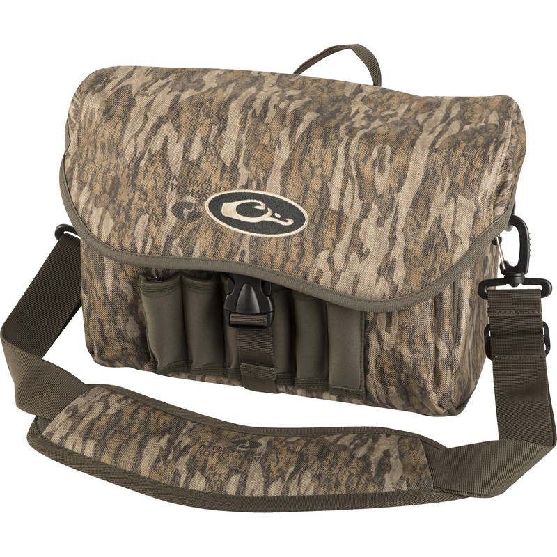 Drake Refuge Blind Bag in Mossy Oak Bottomland Color