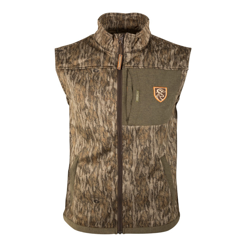 Drake Non-Typical Endurance Vest With Agion in Mossy Oak Bottomland Color