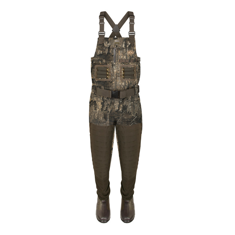 Drake Guardian Elite Uninsulated Breathable Chest Wader - Stout in Realtree Timber Color
