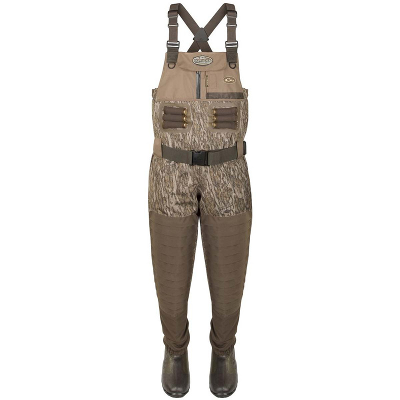 Drake Guardian Elite Insulated Breathable Chest Wader - King in Mossy Oak Bottomland Color